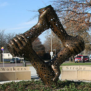 Iowa Workers Monument