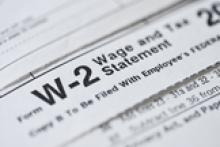 W-2 Wage & Tax Statement
